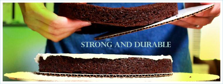 Corrugated Coated Cake Boards