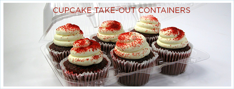Clear Cupcake Containers