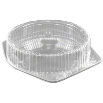 "10"" Shallow Pie Container, 12 ct"