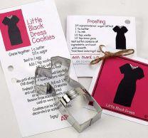 Little Black Dress Cookie Cutter