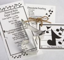 Musical Note Cookie Cutter