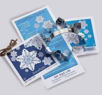 Snowflake Cookie Cutter 4.5""