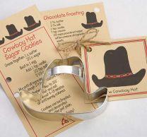 Cowboy Hat Cookie Cutter
