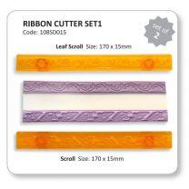 Ribbon Cutters Set 1 (Scroll & Leaf)