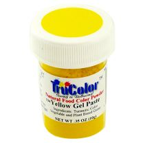 TruColor Natural Yellow Gel Paste Color, 8g