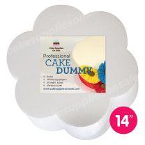 """Petal Shape Dummy 14"""" Diameter 3"""" High"""