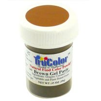 TruColor Natural Brown Gel Paste Color, 9g