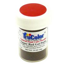 TruColor Natural Super Red Gel Paste Color, 9g
