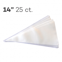 "Piping Bags 14"", Pack of 25"
