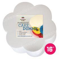 """Petal Shape Dummy 16"""" Diameter 3"""" High"""