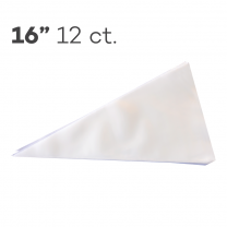 "Piping Bags 16"", Pack of 12"