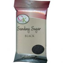 16 Oz Sanding Sugar - Black