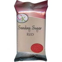16 Oz Sanding Sugar - Red