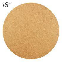 """Masonite Cake Board 18"""" Round"""