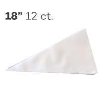 "Piping Bags 18"", Pack of 12"