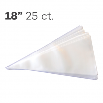 "Piping Bags 18"", Pack of 25"