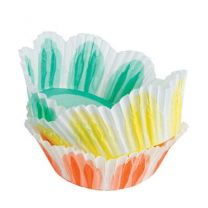Fluted Assorted Baking Cups Muffin 24 ct