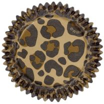 Leopard Standard Baking Cups, Count of 75