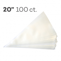 "Piping Bags 20"", Pack of 100"