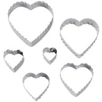 Heart Fondant Double Cut-Outs Set