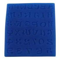 Silicone Mold - Alphabet