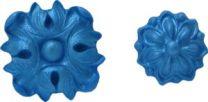 "Silicone Mold - Medallion Set 5: 1"" x 1 1/2"" x 1/4"""