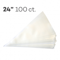 "Piping Bags 24"", Pack of 100"