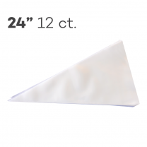 "Piping Bags 24"", Pack of 12"