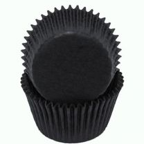 Black Baking Cups, Count of 500