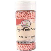 Pink 3-4mm Sugar Pearls 3.6 OZ