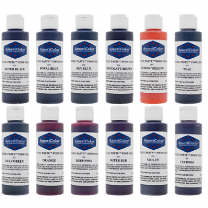 Americolor 4.5 oz Soft Gel Paste 12 Color Variety Kit