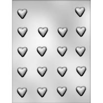 "7/8"" Plain Mini Heart Choc Mold"