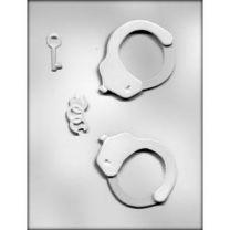 """3-3/4"""" 3d Handcuffs Choc Mold"""