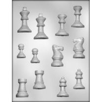 Chess Pieces Choc Mold