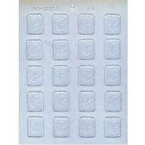"""1-1/4"""" Initial C Mint Choc Mold"""