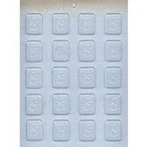 """1-1/4"""" Initial E Mint Choc Mold"""