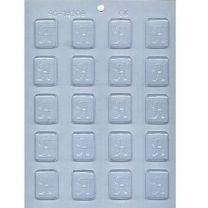 "1-1/4"" Initial H Mint Choc Mold"