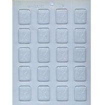 "1-1/4"" Initial K Mint Choc Mold"