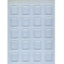 "1-1/4"" Initial L Mint Choc Mold"