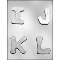 "2-3/4"" I-J-K-L Choc Mold"