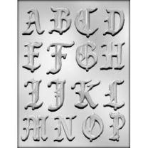 """2"""" Alphabet A-P Choc Mold"""