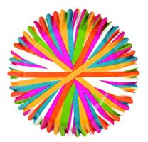 Color Wheel Mini Baking Cups, Count of 100