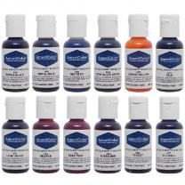 Americolor .75 Soft Gel Paste 12 Color Student Kit 1
