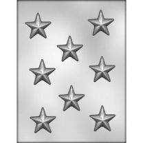 "1-3/4"" Star Choc Mold"