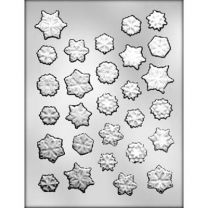 Snowflake Assortment Choc Mold