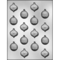 "1"" Xmas Ornament Choc Mold"