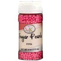 Pink 3-4mm Sugar Pearls 4 OZ