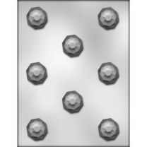 """1-1/4"""" Faceted Dome Choc Mold"""