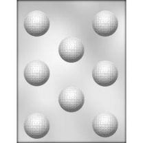 "1-5/8"" Golf Ball Choc Mold"