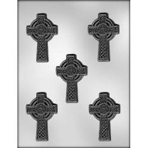 "3"" Celtic Cross Choc Mold"